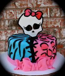 girls monster high birthday cake monster high cake u2014 birthday