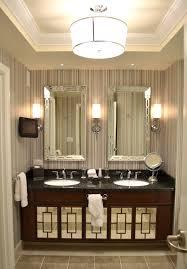 dark brown real wood vanity with storage drawers black granite