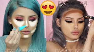 makeup tutorials compilation 2017 how to contour u0026 highlight