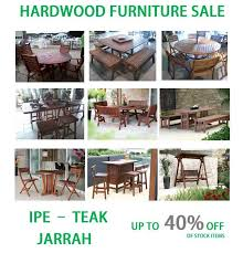 Outdoor Furniture Teak Sale by Ipe Teak And Jarrah Outdoor Patio Furniture Ipe Casual Baltimore Md