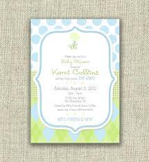 photo baby shower invitations image