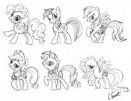 my little pony g4 animation illustration10 pinterest pony