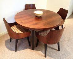 Fine Mid Century Modern Dining Room Tables Tunis  Piece Inside Design - Century dining room tables