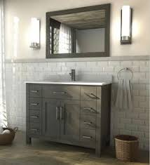 Bathroom Vanities 42 Inch by Kent 42 Inch French Gray Finish Bathroom Vanity Bath Pinterest