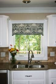 Kitchen Drapery Ideas 28 Kitchen Curtains And Valances Ideas Also In Window Over