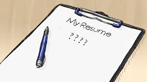 I     m looking for work  but my resume is pretty bare  I     ve only worked in a few places  I     m not so sure about my references  and I     m worried what I have