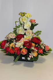 composition florale haute fleurs artificielles tous les messages sur fleurs artificielles
