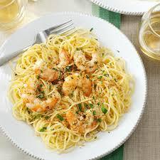 Pasta Recipes Shrimp Scampi Recipe Taste Of Home