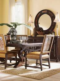 Colonial Dining Room Chairs Kilimanjaro Jacqueline Leather Host Dining Chair Lexington Home