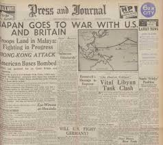 In fact  many of the newspapers had almost exclusive coverage of the British portion of Japan     s attack  only mentioning Pearl Harbor as a part of the longer     Findmypast Blog