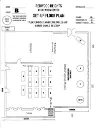Community Center Floor Plans Redwood Heights Recreation Center Recreation Centers And