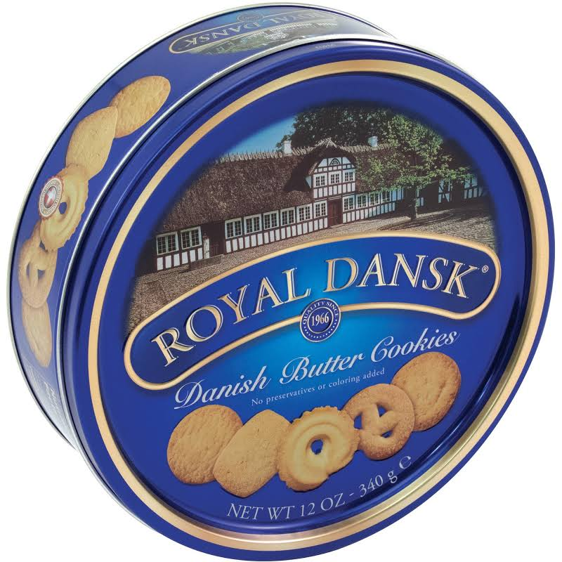 Cookies, Danish Butter, 12oz Tin 53005