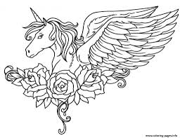coloring page unicorn unicorn coloring pages to download and print