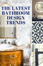 the latest bathroom design trends led mirrors bold fixtures