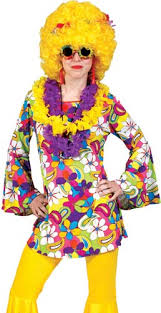 Flower Power Halloween Costume Flower Power Disco Hippie Costume Costume Craze