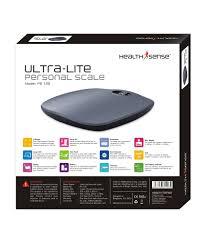 healthsense ultra lite ps 126 digital personal weighing scale