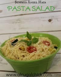 Pasta Salad Ingredients Hair Pasta Salad Recipe