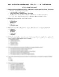 Anatomy And Physiology Chapter 1 Review Answers Interactive Questions During Informed Decisions Anatomy And