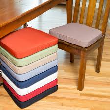 Dining Room Chair Seat Slipcovers Stunning Dining Room Chair Pads With Ties Ideas Home Ideas