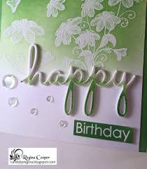 Ombre Background Cards By Regina Happy Birthday Ombre U0027 Emboss Resist Background