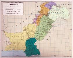 Pakistan On The Map Pakistan Maps