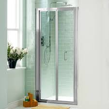 bi fold shower door will give your bathroom an upscale look bath