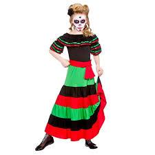 Kids Skeleton Halloween Costume by New Kids Day Of The Dead Mexican Muertos Halloween Skeleton Fancy