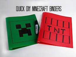 40 minecraft diy crafts u0026 party ideas