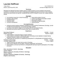 resume summary examples for students best professor resume example livecareer create my resume