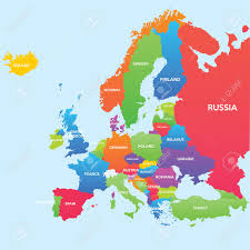Political Map Europe by World Map Countries Royalty Free Cliparts Vectors And Stock