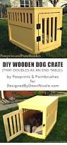 how to build a end table dog crate smart woodworking projects