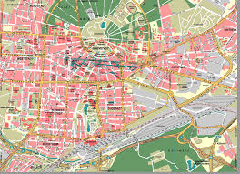 Detailed Map Of Germany by Large Karlsruhe Maps For Free Download And Print High Resolution