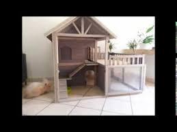 cute indoor bunny hutch house youtube