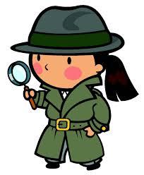 chica detective, imagen encontrada por la red