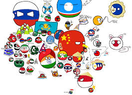 World Map Asia by Polandball Map Explained Asia Album On Imgur