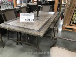 patio table on patio chairs and amazing costco patio dining sets