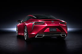 lexus lc pricing detroit motor show lexus lc 500 revealed motor