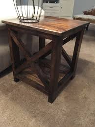 here s an idea for simple cheap diy end tables do it yourself here s an idea for simple cheap diy end tables