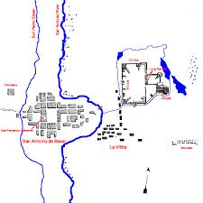 San Antonio Texas Map Map Of San Antonio De Bexar