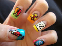 nail art designs for toes for beginners