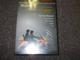 2006 honda gold wing gl1800 gl 1800 service shop repair manual new
