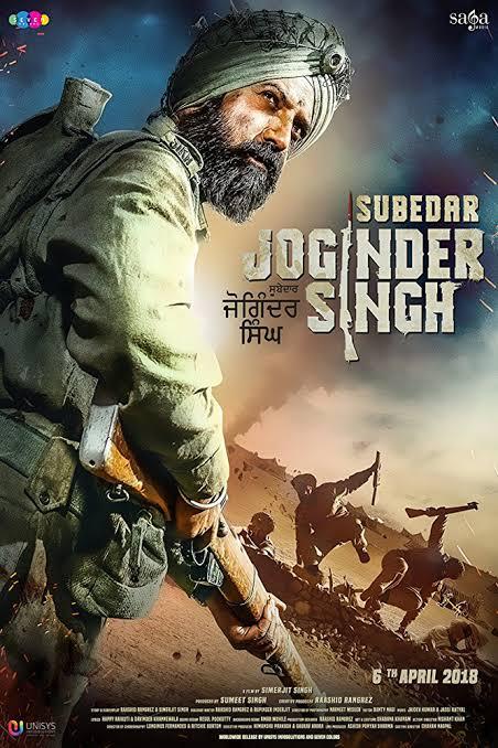 Subedar Joginder Singh Hindi Movie Download HD CamRip 2018