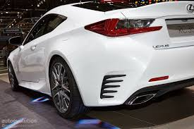 lexus rc red interior lexus rc 350 f sport steers its way into geneva live photos