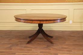 60 inch round pedestal dining table image of double pedestal