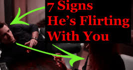 Subtle Signs He     s Flirting With You