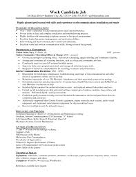 Journeyman Electrician Resume Sample by Functional Resume For Journeyman Electrician Youtuf Com