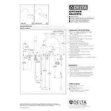 delta faucet 4380 rb dst pilar venetian bronze one handle with 1
