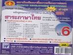 แผนการจัดการเรียนรู้หลักสูตรใหม่ 2551 ภาษาไทย ป.6 (ปรับปรุงใหม่)