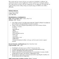 Sample Attorney Resume Solo Practitioner by Creative Achievement Highlights And Core Competencies Attorney