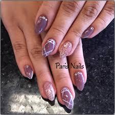 full color gel nails images